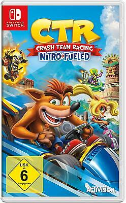 CTR Crash Team Racing Nitro Fueled inkl Bonus-DLC (Switch) (NEU) (Blitzversand)