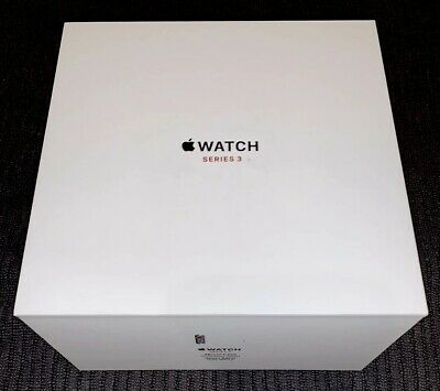 Box and Packaging for Apple Watch Series 3 - 38mm Stainless Steel