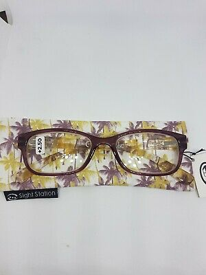 "Sight Station By Foster Grant Reading Glasses Strenght +2.50 ""Maya"""