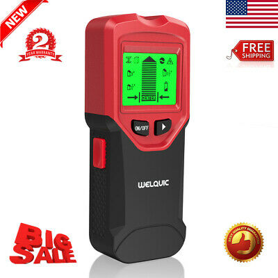 3in1 Stud Steel Wood Wall Center Finder Metal AC Live Wire Detector Scanner Tool