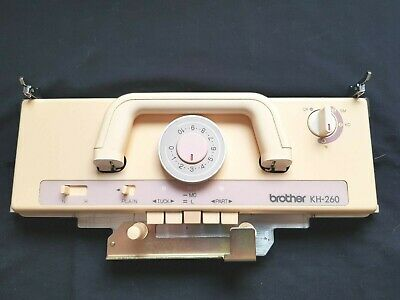 Brother Knitting Machine Part Kh260 Kh-260 9Mm Bulky Main K Carriage Slider