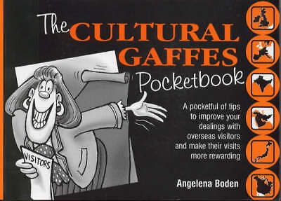 """""""AS NEW"""" The Cultural Gaffes Pocketbook (Sales & Marketing S.), Boden, Angelena,"""