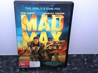 Mad Max - Fury Road (DVD, 2015) - VGC