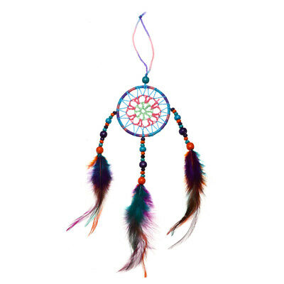 Colorful Handmade Dream Catcher Net Hanging Gift Decor Craft Home Car Decoration