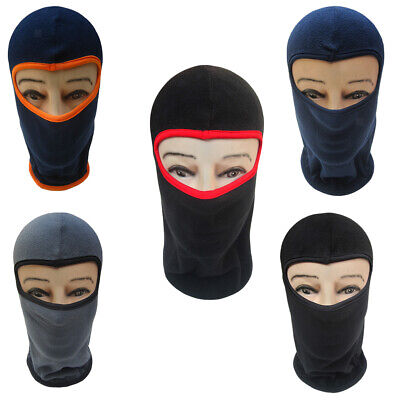 Motorcycle Thermal Full Face Mask Balaclava Cycling Ski Neck Face Scarf Caps