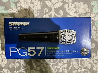 Shure PG57 Dynamic Instrument Microphone