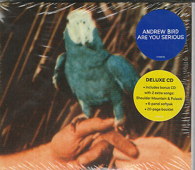 Andrew Bird- Are You Serious Factory Sealed BRAND NEW 2XCD Free 1st Class UK P&P