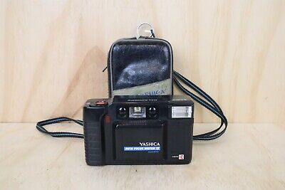 Yashica Auto Focus Motor II Point and Shoot 35mm Film Camera