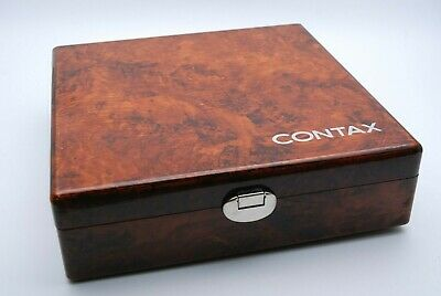 Contax Walnut Box TVS