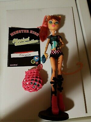Monster High Doll Ghoul Sports Toralei Physical Deaducation