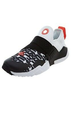 innovative design 7dc42 eb4cb Nike Huarache Extreme Print JDI Big Kids AQ9046-100 Black White Shoes Size  6.5Y
