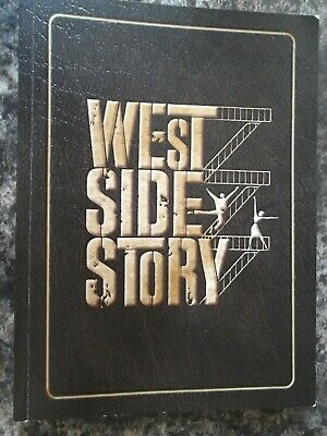 New West Side Story Complete Screenplay Book By Ernest Lehman With Many Photos