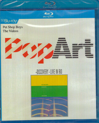 Pet Shop Boys : PopArt The Videos + Discovery Live in Rio SD Blu-ray NEW Tennant
