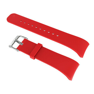 Silicon Wristband Smart Watch Strap & Clasp For Samsung Gear Fit2 R360 R365