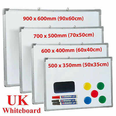 New Large Whiteboard Magnetic Dry Wipe Drawing Board&Eraser Office Schol Memo