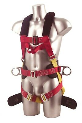Portwest FP18 Safety Harness Comfort Plus 3 Points Anchorage Fall Arrest Safety.