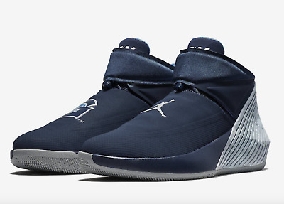 check out 964db 1c863 Nike Mens 9 Georgetown Air Jordan Why Not Zer0.1 Basketball Shoe College  Navy