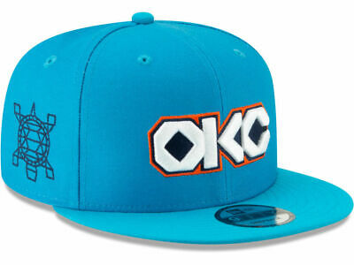 pretty nice aee9f fc886 Oklahoma City Thunder OKC New Era 9FIFTY NBA City Edition Snapback Cap Hat
