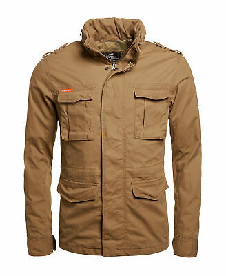 2d19931437f12 MENS SUPERDRY CLASSIC Rookie Military Jacket Military Khaki - $68.00 ...