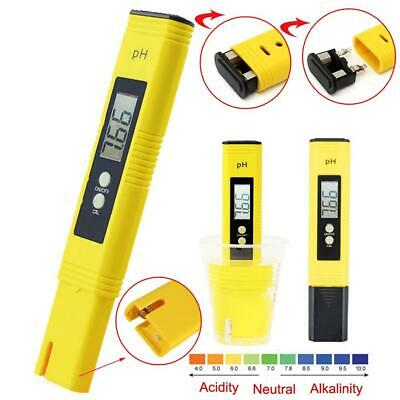 Digital PH Meter+TDS EC Water Purity PPM Filter Aquarium Hydroponic Pool Tester