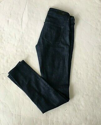 1ceb78dbe4aac AG Adriano Goldschmied The Jegging Super Skinny Jeans Women's size 26R Dark  Blue
