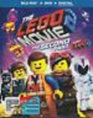The Lego Movie 2 The Second Part - (Bluray + DVD,2019 ) NO DIGITAL - w/Slipcover