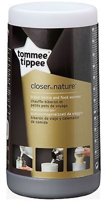 Tommee Tippee CLOSER TO NATURE TRAVEL BOTTLE FOOD WARMER Baby Feeding BNIB