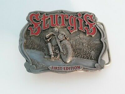 Sturgis Motorcycle Belt Buckle First Edition