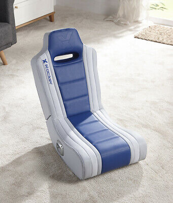 Admirable X Rocker Hydra 2 0 Floor Rocker Gaming Chair Blue 74 99 Machost Co Dining Chair Design Ideas Machostcouk