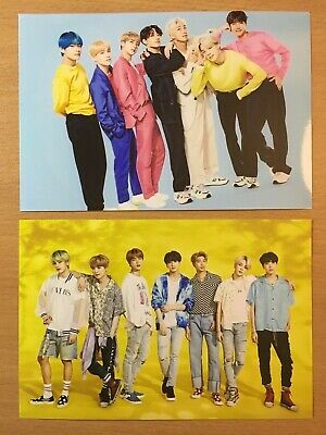 BTS Unofficial Photos JAPAN Lights/Boy With Luv RM SUGA JHOPE JIN Jimin V JK