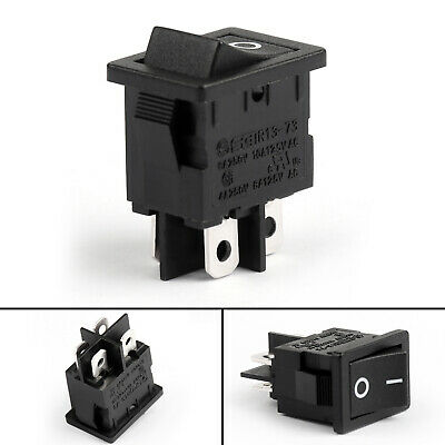 R13-73A Boat Rocker Switch 4Pin 2 Position DPST ON-OFF 6A/250VAC 10A/125VAC CA