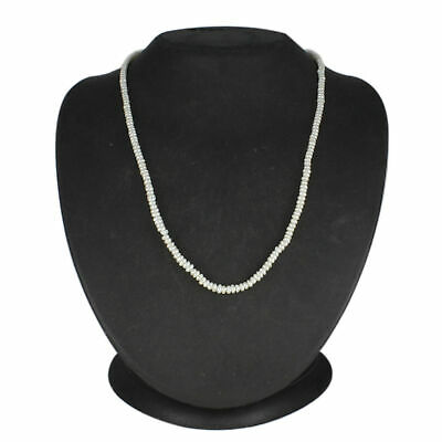 "Freshwater Cultured Pearls 14k White Gold Over 17"" Strand Necklace"