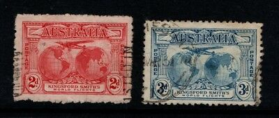 Australia 1931 Kingsford Smith 2d and 3d SG 121-2  Used