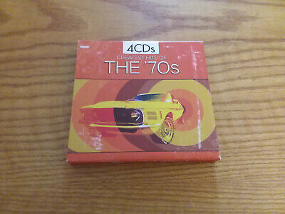 GREATEST HITS OF THE 70s 2009 Madacy 4 CD Set