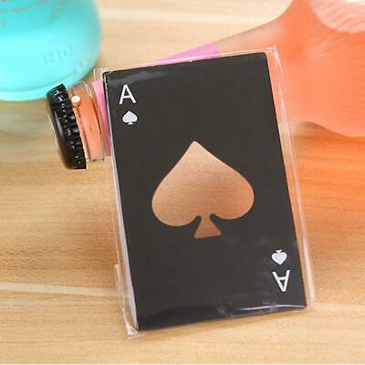 Mini Spade A Poker Card Beer Bottle Opener Stainless Steel Bottle Opener PRO#