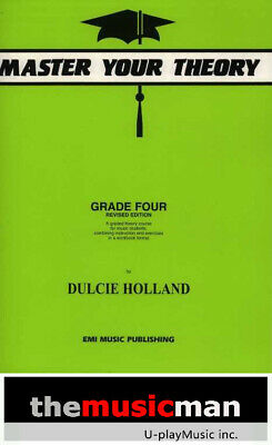 Master Your Theory - Grade 4 Four Revised Edition- Dulcie Holland *NEW*