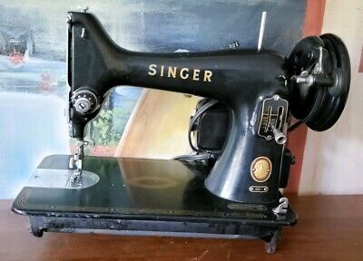 Vintage Singer Feather Lite Sewing Machine c1955 *Parts Only*