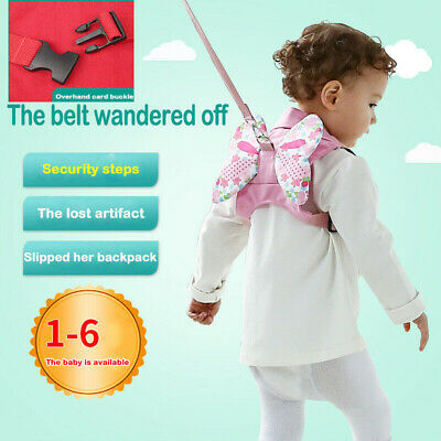 Safety Harness Baby Kid Strap Toddler Walking Keeper Backpack Anti Lost Leash#