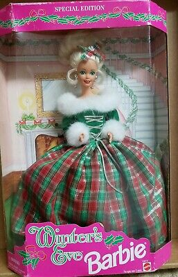 Barbie Winter's Eve 1994 Special Edition Holiday Christmas Doll New in Box