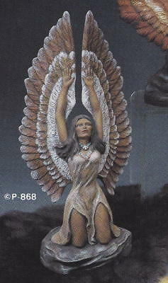 "Eagle Princess INDIAN MAIDEN (13-1/2"") Provincial Ceramic Mold NATIVE AMERICAN"