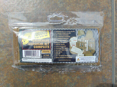 Voodoo Tactical U.S. Coyote Tan 19 pc. Universal Surgical kit, new w/ free ship