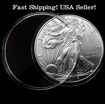 20x COIN Capsules Holder 40.6mm  US AMERICAN EAGLE SILVER Dollar USA SHIPPING!