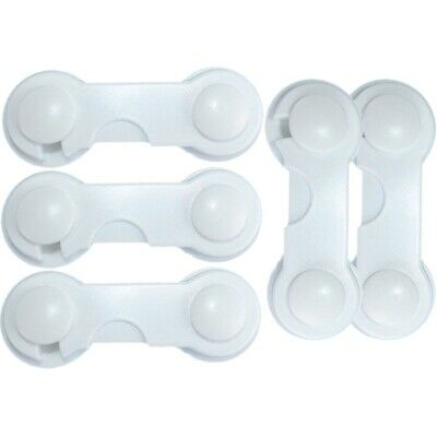 5 Pcs Baby Drawer Lock Children Security Protection For Cabinet Toddler Chil 2K5