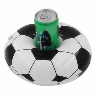 Swimming Pool Drink Holder Football Design Inflatable Floating Toy