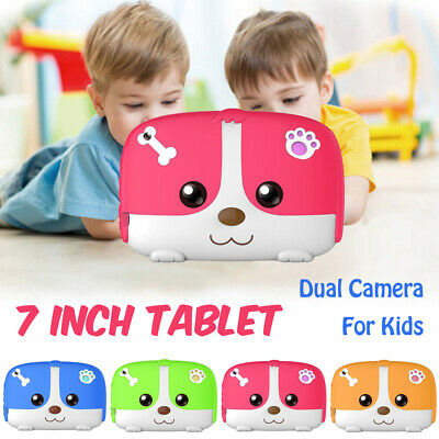 """7"""" inch Kids Tablet PC Android 4.4 8GB Dual Camera Quad Core HD WiFi Child Gifts"""