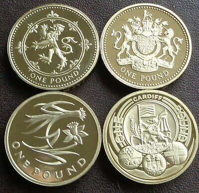 1983 - 2019 Elizabeth II £1 (One Pound) Proof Coin - Choose Your Year