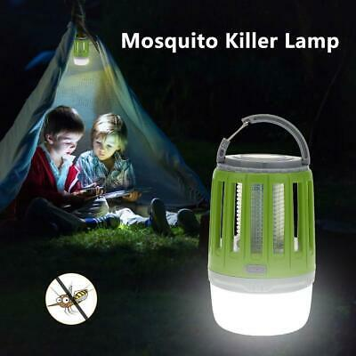 Camping Tent Outdoor Insect Bug Flying Killer Light Mosquito Zapper LED Lamp