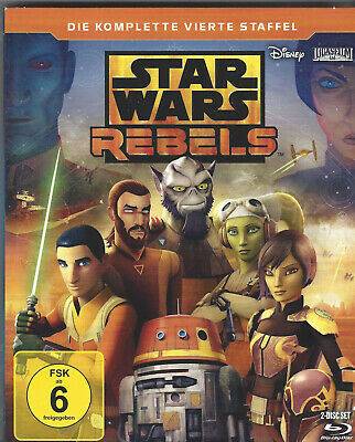 Star Wars Rebels - Die komplette 3. Staffel (Walt Disney) | Blu-ray | neuwertig