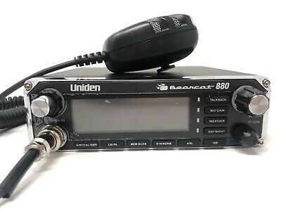 db97aed83f082 UNIDEN BEARCAT 880 40-Channel CB Radio with Noise-Canceling ...