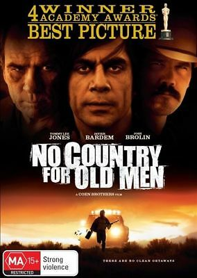 No Country For Old Men DVD New/Sealed Region 4
